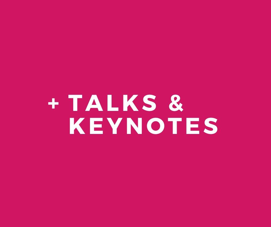 Skidmore Consulting - Talks & Keynotes Service